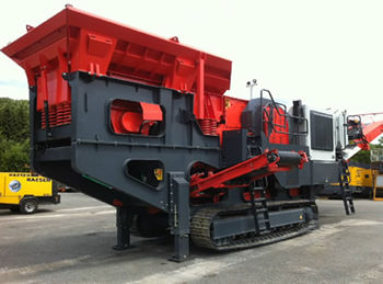 Crawler Mobile Jaw Crusher
