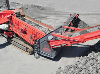 Crawler Mobile Screening Plant